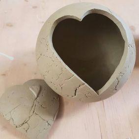 Urne coeur